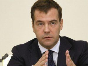 Дмитрий Медведев, фото с сайта president2012.ru