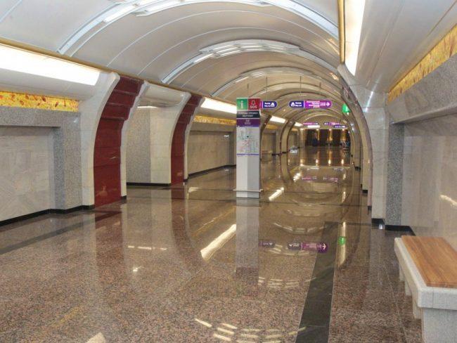 """Станция метро """"Бухарестская"""""""