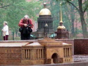 Миниатюрный Петербург, фото с сайта visit-petersburg