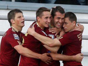 Сборная России по футболу, фото с сайта news.parimatch