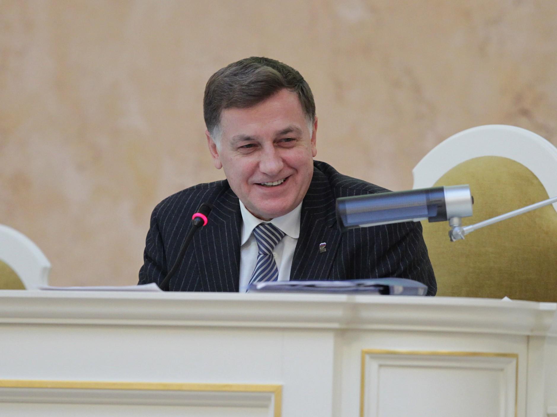 Вячеслав Макаров, фото пресс-службы ЗакСа | ИА