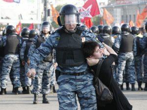 Беспорядки на Болотной 6 мая, фото с сайта ridus.ru
