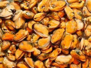 мидии, фото с сайта www.gulfstream-fish.ru