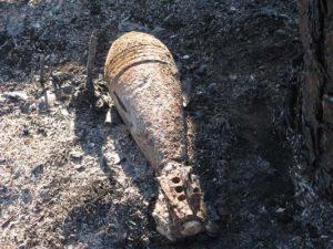 минометная мина, снаряд, бомба, ВОВ, боеприпасы
