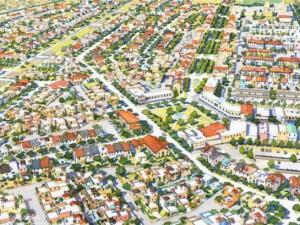 эскиз города-спутника Южный