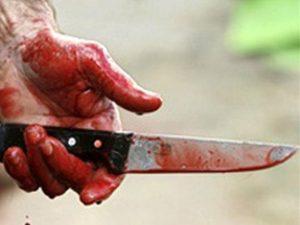 убийство, криминал, нож