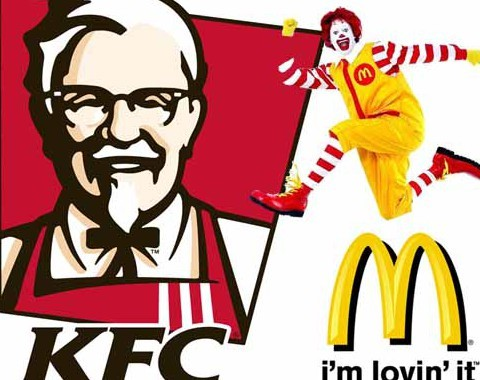 comparison of kfc mcdonald Mcdonald's and kfc are everybody's favorite food trip destinations when you like hambur gers, mcdonald's is always the top option when you like fried chicken, kfc is always the first thing thatcomes to everyone's mind.