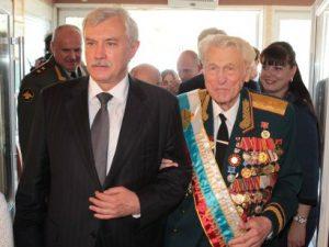 Полтавченко и ветеран