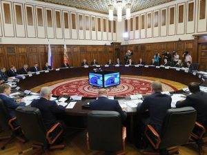 совещание Путина в кремле