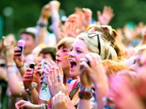 фестиваль, толпа