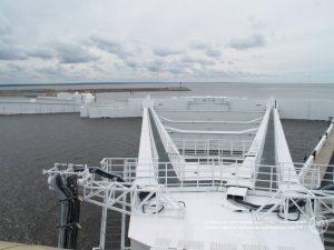 дамба, КЗС, комплекс защитных сооружений Петербурга, фото с официального сайта