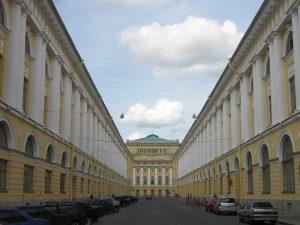 улица Зодчего России, академия балета Вагановой, фото Википедия
