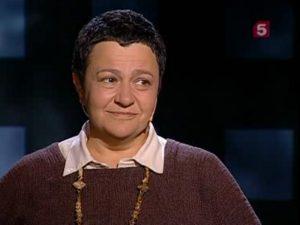 Елена Баснер, кадр Пятого канала