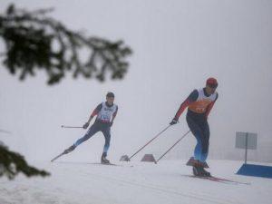 Лысова и Будалеева биатлон лыжи паралимпиада