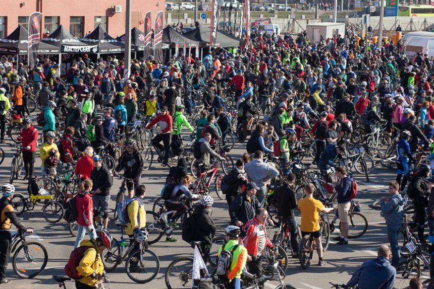велосипедисты, велопробег