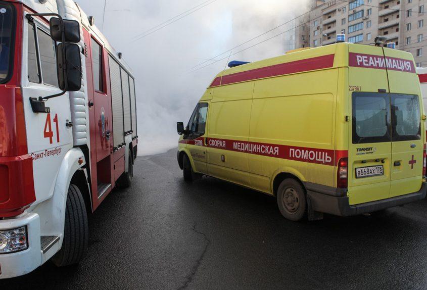 трубы спасатели пожарные скорая