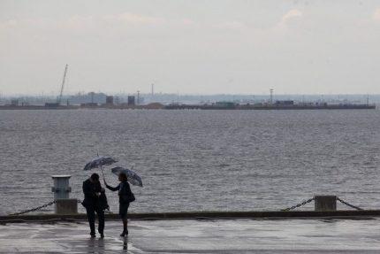 пэф, пмэф, форум, ленэкспо, финский залив, дождь, гроза, ливень