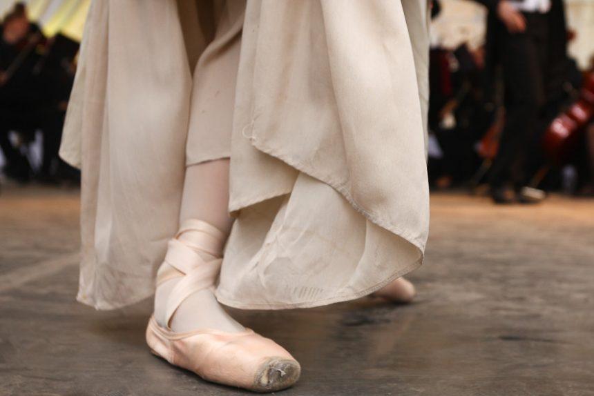 балет пуанты танец