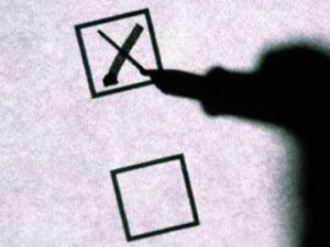 выборы анкета голосование бюллетень