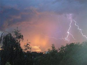молния гроза ливень дождь погода