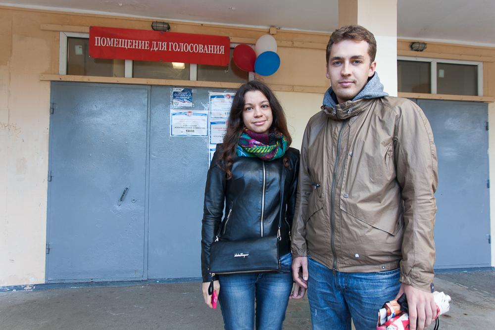 Максим, аспирант и Алена, IT-специалист