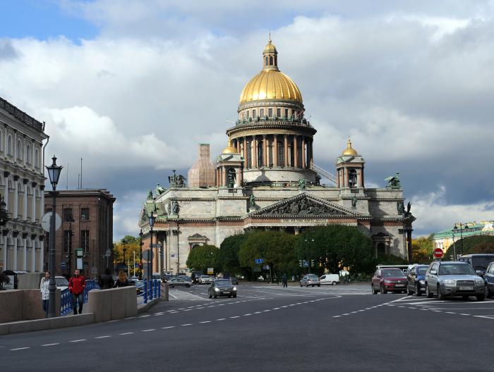синий мост исаакиевский собор