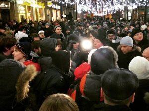 митинг навальный малая садовая
