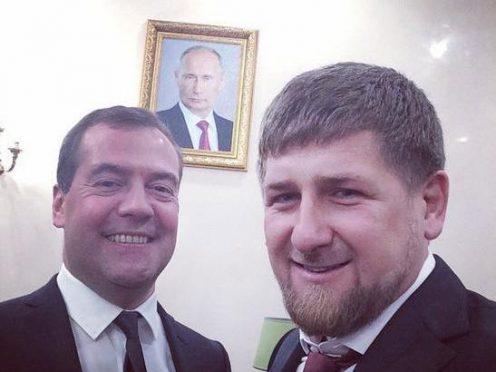 медведев и кадыров