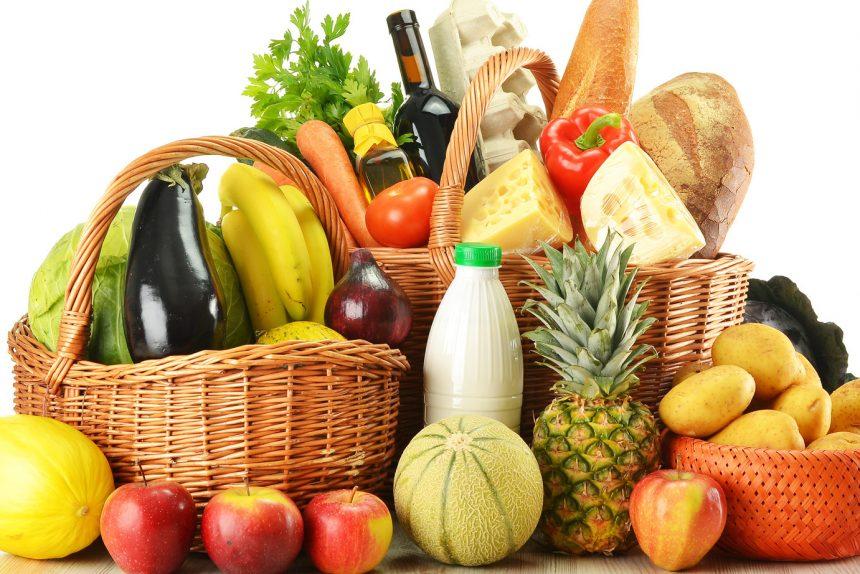 продукты еда продуктовая корзина
