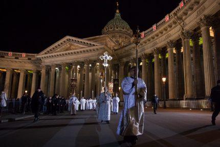 всенощное бдение служба пасха казанский собор