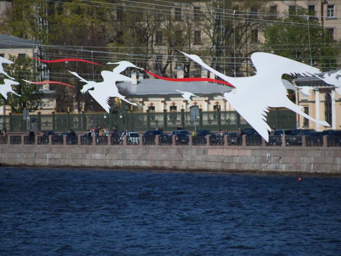 Петербург отмечает День Победы
