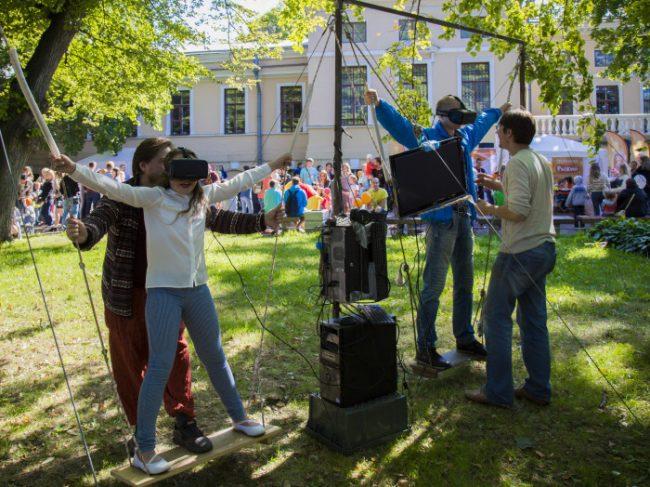фестиваль ростовых кукол в юсуповском саду уличный праздник