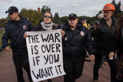 анна шестова марш мира украина митинг