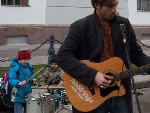 Кконцу весны вПетербурге пройдет День уличной музыки
