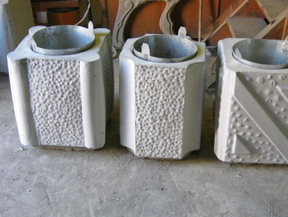 Урна из бетона