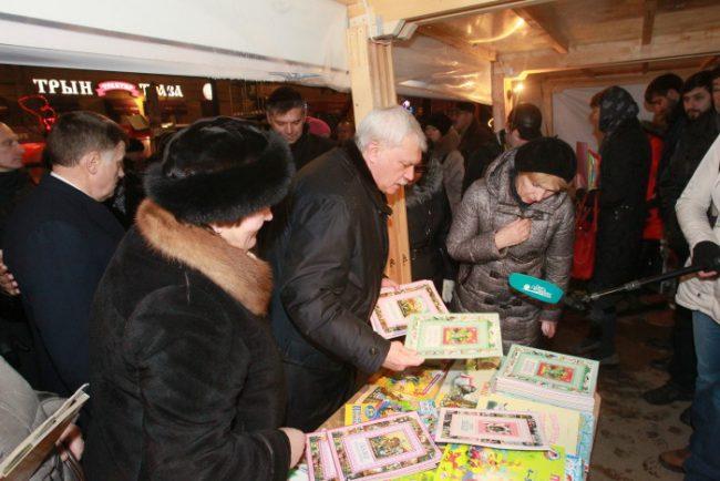 рождественские книжные аллеи