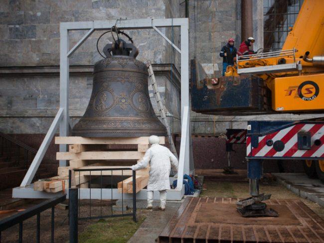 колокол на исаакиевском соборе