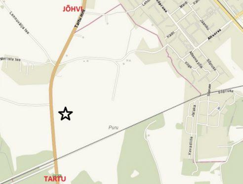 карта предоставлена полицией Эстонии