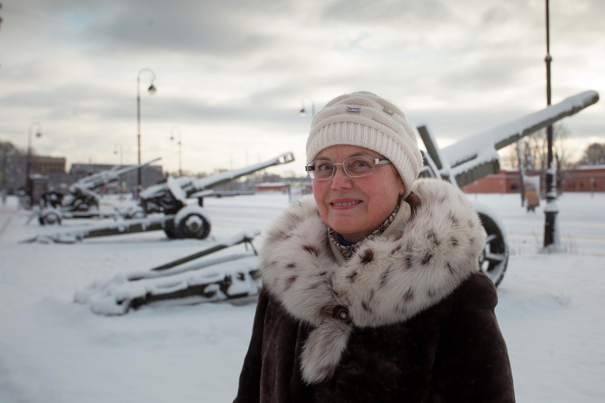 Валентина Алексеевна, пенсионерка