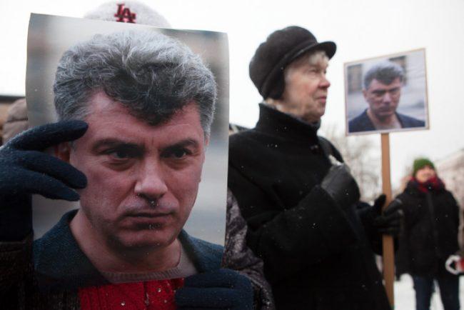 марш митинг памяти бориса немцова