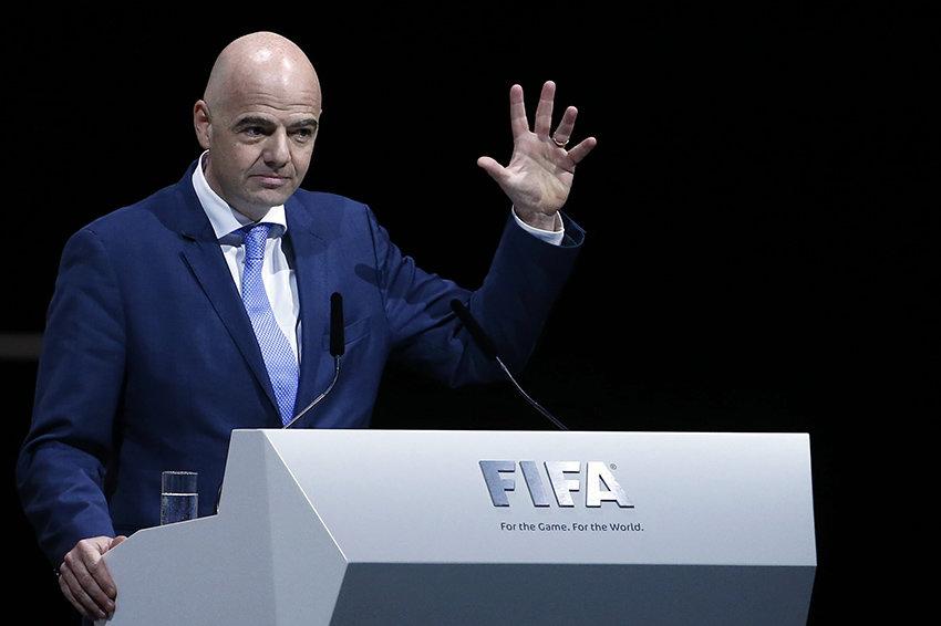 Джанни Инфантино избранный генсек ФИФА FIFA