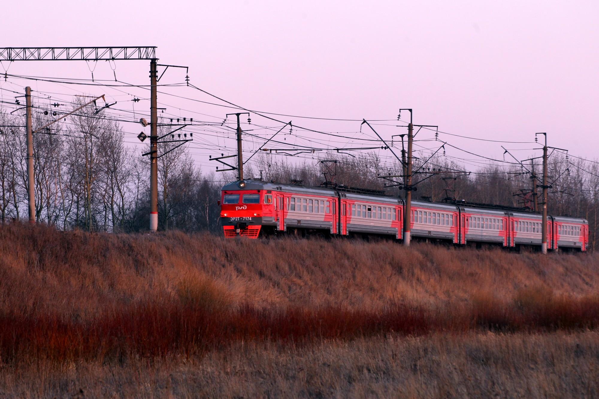 электричка электропоезд варшавское направление железная дорога железнодорожный транспорт