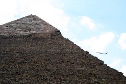 египет пирамиды самолёт авиасообщение полёты
