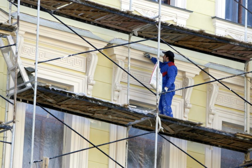 реставрация фасадов строительные работы