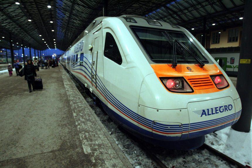 скоростной поезд аллегро allegro хельсинки железнодорожный вокзал