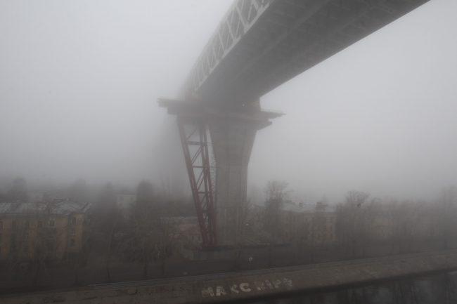 морской канал порт санкт-петербурга канонерский остров туман западный скоростной диаметр зсд мост