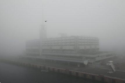 туман морской вокзал санкт-петербург