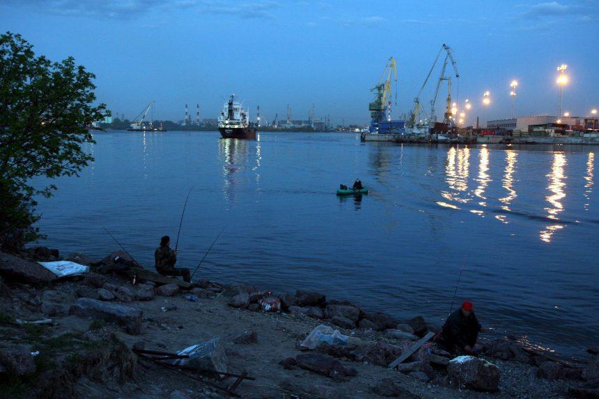 канонерский остров морской канал порт рыбалка