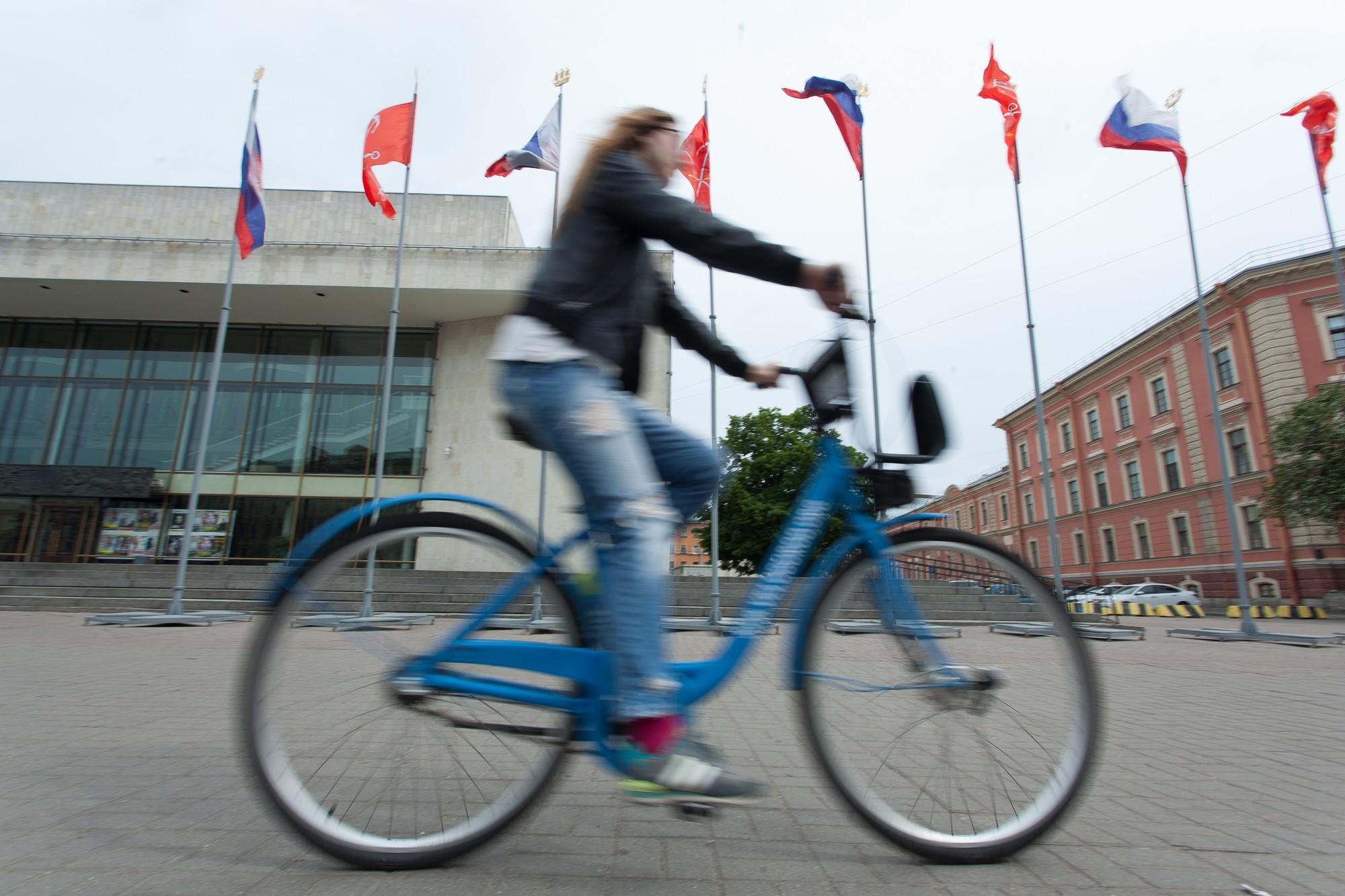 ВПетербурге с20апреля начнет работать велопрокат