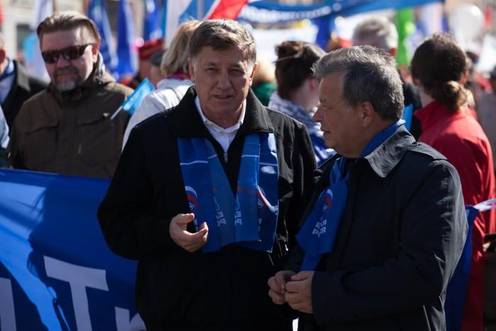 первомай-2016 единая россия единороссы профсоюзы макаров